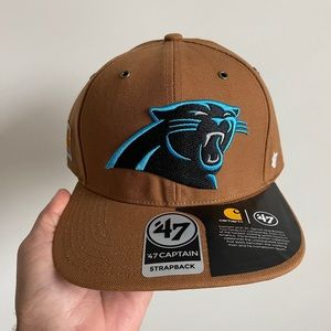 New '47 Captain Carhartt Carolina Panthers Hat